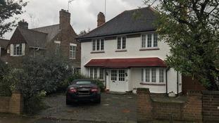 Home of Robert Peters in Wimbledon