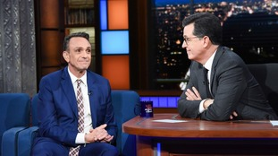 Hank Azaria was speaking on The Late Show with Stephen Colbert.