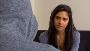 Victim speaking to Ria Chatterjee