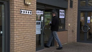 Turnout in local elections is usually quite low at 25-35%.