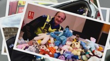 Across Australia where they first appeared, tens of thousands of Trauma Teddies have been given out.