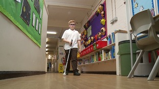 Essex schoolboy's mission to improve understanding of sight loss