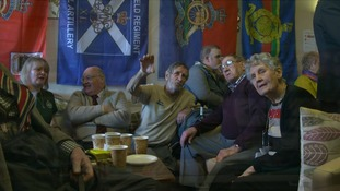Veterans' cafe combating ex-service personnel loneliness