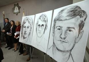 Law enforcement drawings released in 2016 show a suspected serial killer