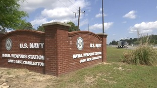 The conditions at the US naval brig in South Carolina was described as