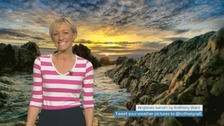Wales Weather: Drying out with clear skies!
