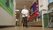 Schoolboy's mission to improve understanding of sight loss