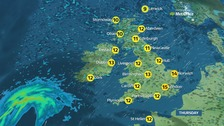 Weather: Sunshine and showers across UK