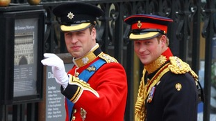 Prince Harry was the Duke of Cambridge's best man at his wedding in 2011.