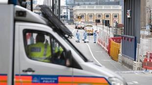 Forensics at London Bridge