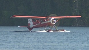 The plane involved in the crash