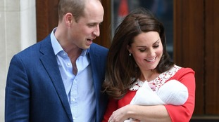 Royal baby named as Louis Arthur Charles as William and Kate honour royal ancestors