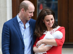 *The baby will be known as Prince Louis of Cambridge.