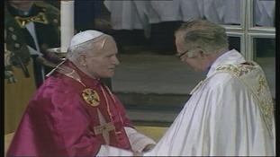 Pope John Paul in 1982.