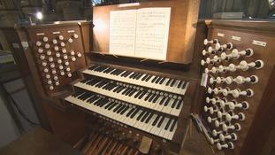 132 year old Willis Organ