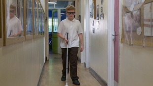 Schoolboy's campaign to raise awareness of eye condition