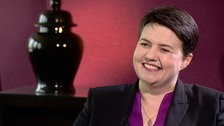 Ruth Davidson's pregnancy joy after IVF treatment