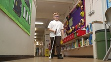Schoolboy's efforts to improve awareness around sight loss