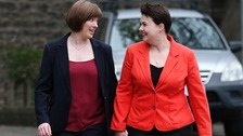 Scottish Conservative leader announces pregnancy