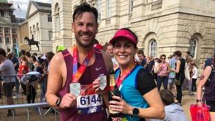 Marathon runner finds love at finish line