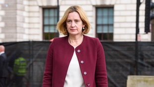 Amber Rudd has insisted the UK will leave the customs union after Brexit.