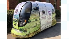 Driverless vehicles on trial in the Lake District