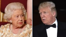 Donald Trump tipped to meet the Queen during Friday 13th visit