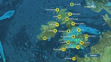 Weather: North/South divide but a chilly day for most