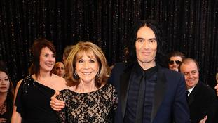 Russell Brand 'rushes to mother's hospital bedside after serious car crash'