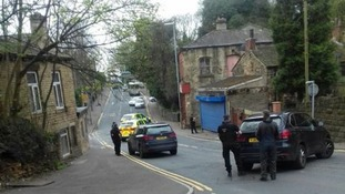 Armed Police were called early this morning