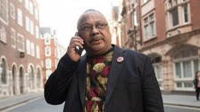 Labour activist Marc Wadsworth, who has been expelled from the party following a disciplinary hearing (Stefan Rousseau/PA)