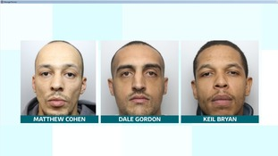 Three men have been found guilty of a drive-by murder