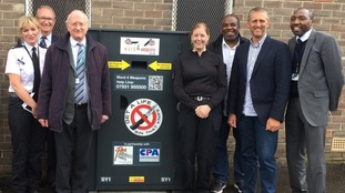 First knife bin in South Yorkshire has been installed in Sheffield