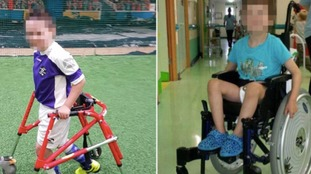 Appeal after boy with cerebral palsy has wheelchair and walker stolen
