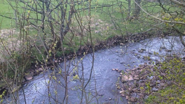 The River Keekle had quantities of untreated sewage discharged into it