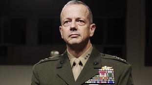 US Marine Corps Lt. Gen. John Allen