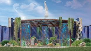 Chelsea Flower Show gardens take on issues over plastic and pollution