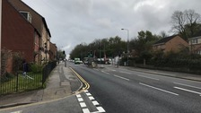 An investigation is underway after a teenager was hit by a lorry