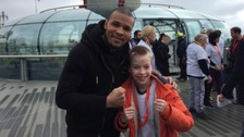 Boxer Chris Eubank Junior at the i360