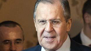 Russian foreign minister Sergei Lavrov criticised the US over Syria.
