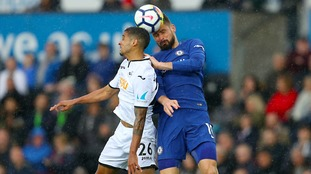 Premier League: Fabregas goal sees Chelsea take all three points at Swansea