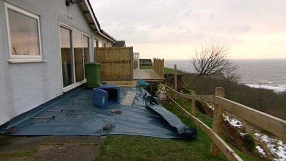 Scarborough Landslide Threatens Homes On Cliff Top Tyne