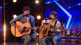 Watch: Father and son duo from Norfolk wow judges on Britain's Got Talent