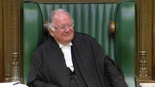 Tributes paid to former House of Commons speaker Lord Martin