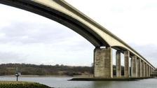 The Orwell Bridge reopens