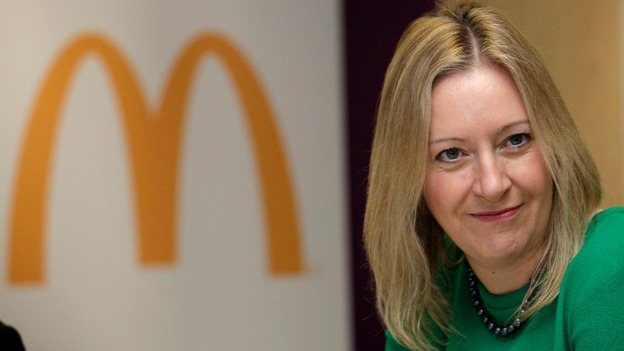 Jill McDonald, McDonald&#x27;s CEO of UK and Ireland