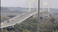 Queues on the Severn Bridge