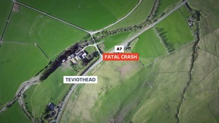 Pensioner dies after car hits tree in Borders