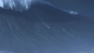Brazilian sets world record for largest wave ever surfed
