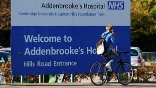 Addenbrooke's in top ten for A&E targets